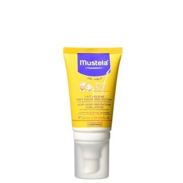 تصویر لوسیون ضد آفتاب کودک موستلا 40 میل