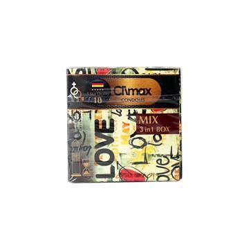 تصویر کاندوم 3 عددی میکس  کلایمکس