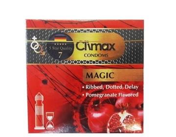 تصویر کاندوم تاخیری خاردار مجيک 3 عددي کلايمکس