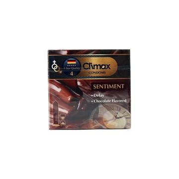 تصویر کاندوم تاخیری با اسانس شکلات سنتيمنت 3 عددي کلایمکس