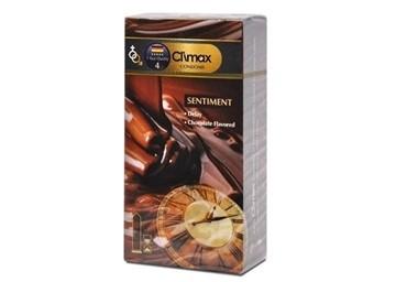 تصویر کاندوم تاخیری با اسانس شکلات سنتيمنت 12 عددي کلایمکس
