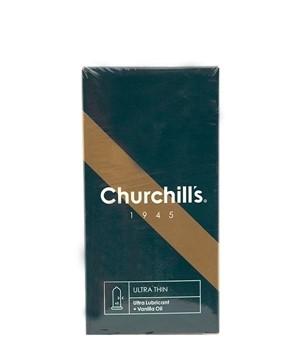 تصویر کاندوم کلاسیک فوق نازک چرچیلز 12 عددی