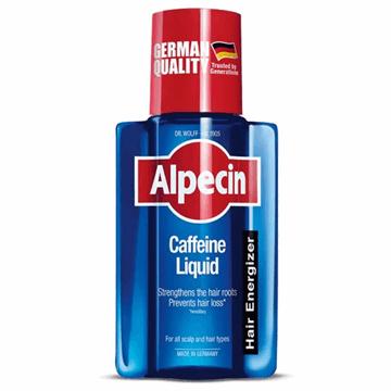 تصویر محلول تقویت کننده و ضدریزش مو کافئین آلپسین 200 میل