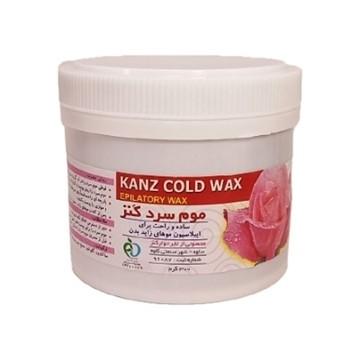 تصویر موم سرد گل رز و عسل کنز 300 گرم