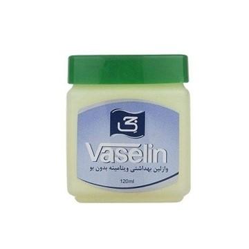 تصویر وازلین بهداشتی ویتامینه بدون بو جی 120 میل