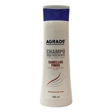 تصویر شامپو تقویتی موهای نازک آگرادو 400 ميل