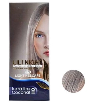تصویر کیت رنگ مو شماره 9.77 (نسکافه ای روشن)  لی لی نایت 120 میل