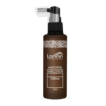 تصویر محلول ضد ریزش و تقویت کننده مو ماینوکسیدیل و کافئین لامینین 75 میل