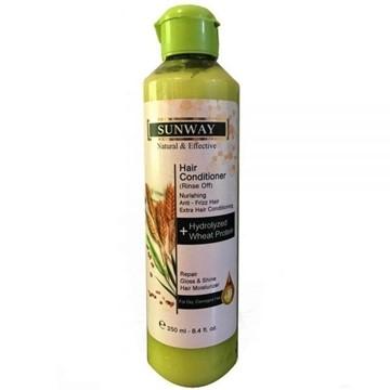 تصویر نرم کننده مو حاوی عصاره ی جوانه گندم سان وی ۲۵۰ میل