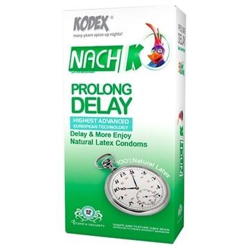 تصویر کاندوم تاخیری Prolong Delay کدکس 12 عددی