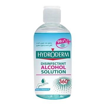 تصویر محلول ضدعفونی کننده دست و انواع سطوح هیدرودرم 250 میل