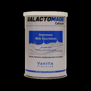 تصویر پودر شیرافزای گالاکتومید کلسیم سلامت پرمون امین 300 گرم