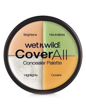تصویر پالت اصلاح رنگ صورت کاورال وت اند وایلد 6.5 گرم