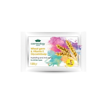 تصویر صابون گلیسیرینه ویتامین E و جوانه گندم کاسمکولوژی 120 گرم