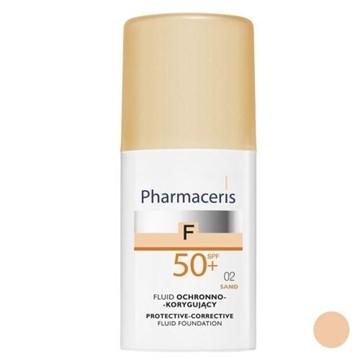تصویر کرم پودر مایع همراه با ضد آفتاب +SPF50 فارماسریز 30 میل