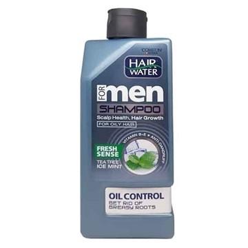 تصویر شامپو ضدشوره و خنک کننده مناسب موهای چرب کامان 410 میل