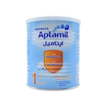 تصویر شیر خشک مخصوص شیرخواران 0 تا 6 ماه آپتامیل ۱ نوتریشیا 400 گرم