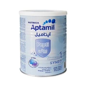 تصویر شیر خشک مناسب 0 تا 6 ماه آپتامیل پپتی نوتریشیا 400 گرم