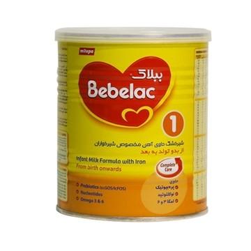 تصویر شیر خشک مناسب از بدو تولد تا 6 ماهگی ببلاک 1 میلوپا 400 گرم
