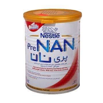 تصویر شیر خشک مناسب از بدو تولد تا 6 ماهگی پری نان نستله 400 گرم