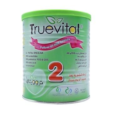 تصویر شیر خشک شماره 2 مناسب 6 ماهگی تا 1 سالگی تروویتال 400 گرم
