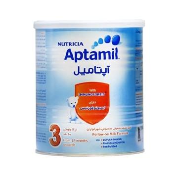 تصویر شیر خشک از 12 ماهگی به بعد آپتامیل 3 نوتریشیا 400 گرم