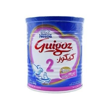 تصویر شیر خشک مناسب شیرخوران 6 ماهگی به بعد گیگوز 2 نستله 400 گرم