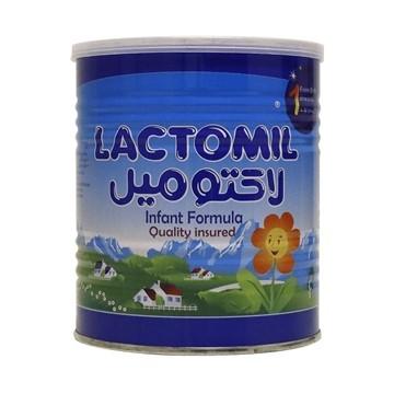 تصویر شیر خشک مخصوص از بدو تولد تا 6 ماهگی شماره 1 لاکتومیل 400 گرم