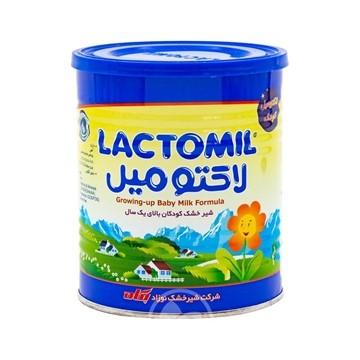 تصویر شیر خشک کودکان بالای یک سال لاکتومیل 400 گرم