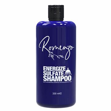 تصویر شامپو فاقد سولفات Energize برای موهای خشک و آسیب دیده رومنزو 330 میل