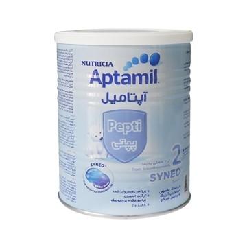 تصویر شیر خشک از 6 ماهگی آپتامیل پپتی آلرژی کر 2 نوتریشیا 400 گرم
