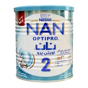 تصویر شیر خشک نان 2 مناسب 6 تا 12 ماهگی نستله 400 گرم