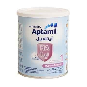 تصویر شیر خشک از بدو تولد تا 6 ماهگی آپتامیل اچ آ 1 نوتریشیا 400 گرم