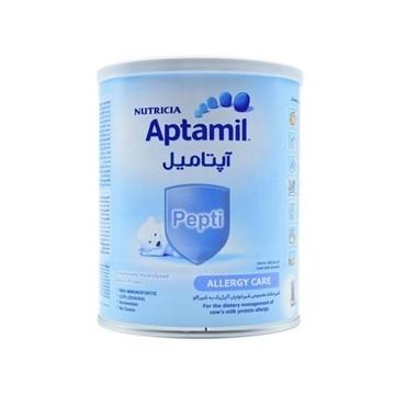 تصویر شیر خشک آپتامیل پپتی آلرژی کر 1 نوتریشیا 400 گرم