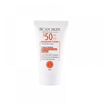 تصویر کرم ضد آفتاب ضد لک اسکن اسکین 40 میل